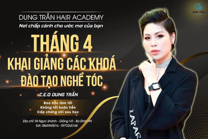 Giảng viên Dung Trần - thế hệ tiên phong đào tạo nghề tóc tại Việt Nam