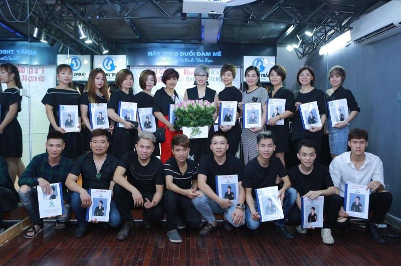 Cơ sở đào tạo nghề tóc uy tín - Dung Trần Hair Academy